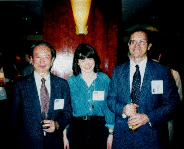 [Chang, Sheena and John at Buckley Prize reception]